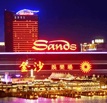 Venetian Macao is the best Chinese casino-resort for many consecutive years
