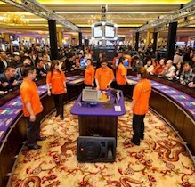 Imperial Pacific Hotel & Casino has resumed its work