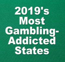 Most Gambling States in US