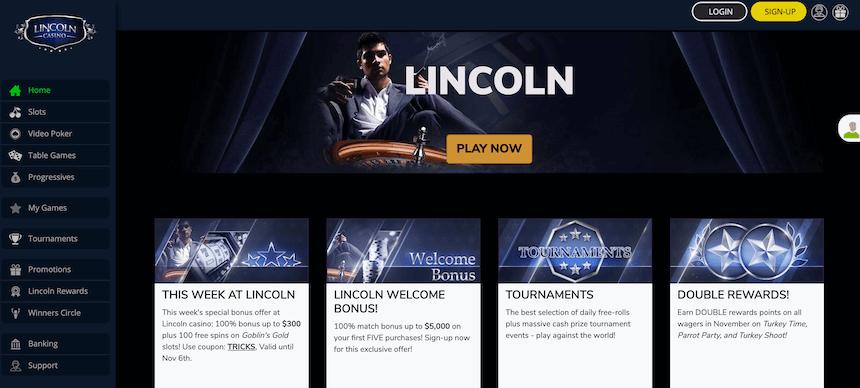 Lincoln Online Casino