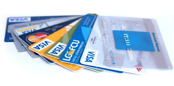 Credit and Debit payment cards