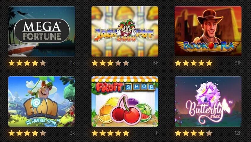 Play best slots here