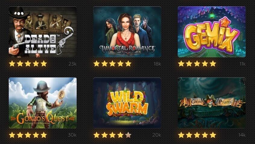 Play best online slot games