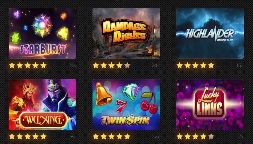 Free slots no download no registration