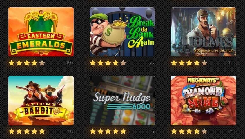 Slots with bonus rounds