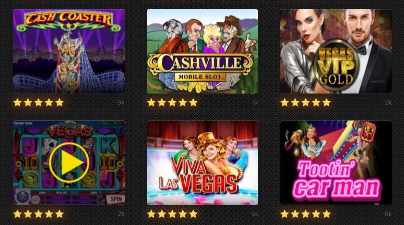 Free Vegas slots online